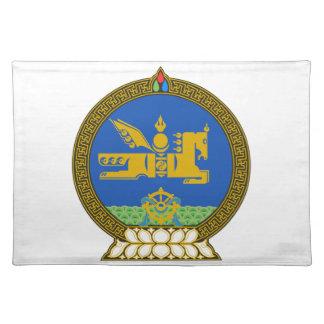 Mongolia State Emblem Place Mats