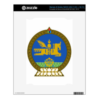 Mongolia State Emblem Decals For NOOK