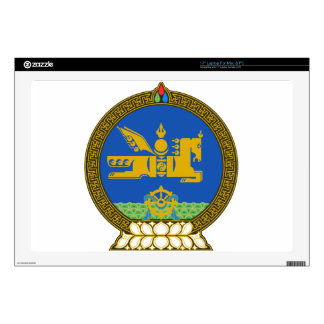 "Mongolia State Emblem Decals For 17"" Laptops"