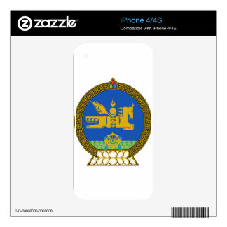 Mongolia State Emblem iPhone 4S Skins
