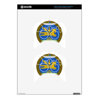 Mongolia State Emblem Xbox 360 Controller Skin