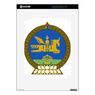 Mongolia State Emblem Skins For The iPad 2