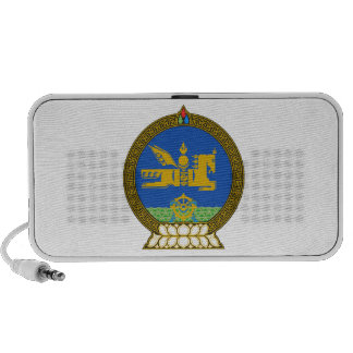 Mongolia State Emblem Portable Speakers