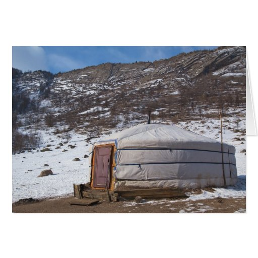 Mongolian Countryside photography Cards