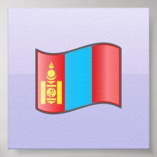 Mongolian de Nuvola Mongolia Posters