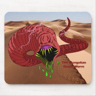 Mongolian Death Worm Mousepad
