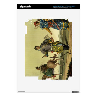 Mongolian Eight Flags soldiers from Ching's milita iPad 3 Decals