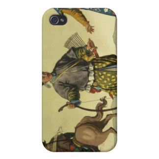 Mongolian Eight Flags soldiers from Ching's milita iPhone 4 Case