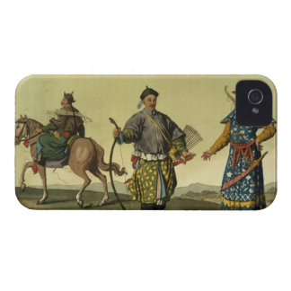 Mongolian Eight Flags soldiers from Ching's milita iPhone 4 Case-Mate Case