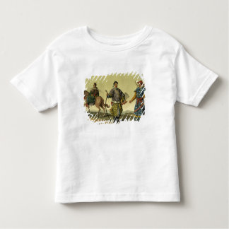 Mongolian Eight Flags soldiers from Ching's milita Toddler T-shirt