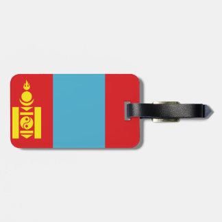 Mongolian Flag Bag Tag