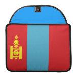 Mongolian Flag Sleeve For MacBook Pro