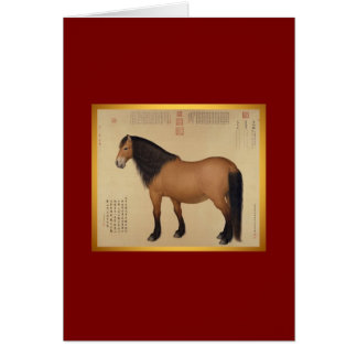 Mongolian Horse - Year of The Horse  - Cards