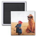 Mongolian memories2 refrigerator magnet
