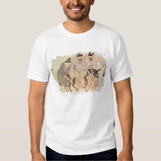 Mongolian nomads with a donkey, 15th century T-Shirt