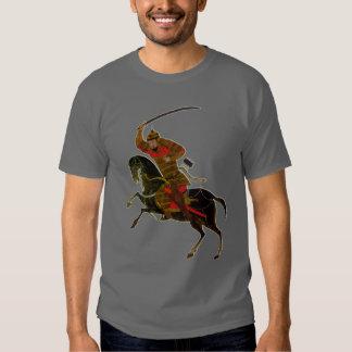 Mongolian rider tee shirt