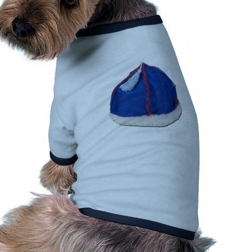 MongolianFeltHat010212 Camisetas De Perro