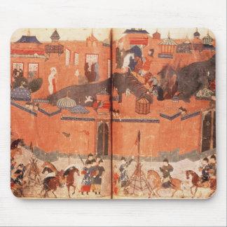 Mongols under the leadership of Hulagu Khan Mouse Pad