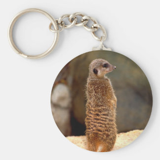 Mongoose10 Basic Round Button Keychain