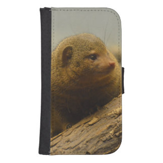 Mongoose a Tree Branch Wallet Phone Case For Samsung Galaxy S4