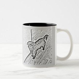 Mongrel Cup Two-Tone Coffee Mug