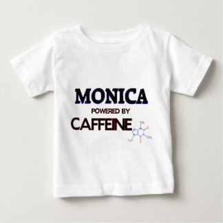 Mónica accionó por el cafeína tee shirt
