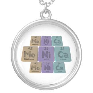 Monica as Molybdenum Nickel Calcium Necklace