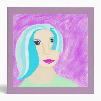 Monica Vinyl Binder