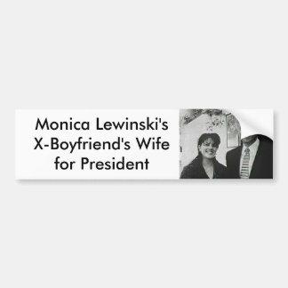 Monica Bumper Sticker