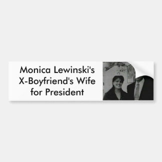 Monica Bumper Sticker