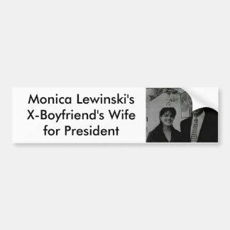 Monica Car Bumper Sticker