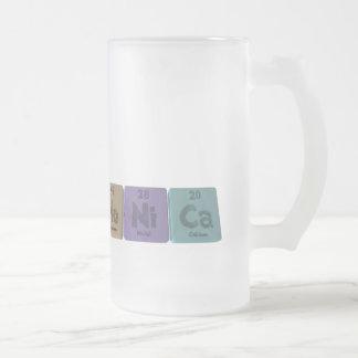 Mónica como calcio del níquel del molibdeno taza de cristal