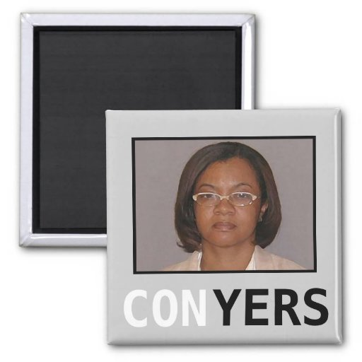 Monica CONyers 2 Inch Square Magnet