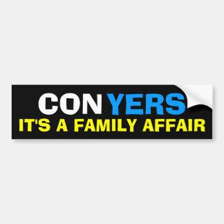 Monica Conyers - It's a Family Affair Bumper Sticker