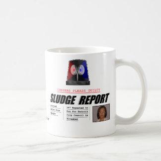 Monica Conyers:  Sludge Report Classic White Coffee Mug