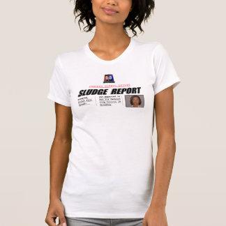 Monica Conyers: Sludge Report Tee Shirts