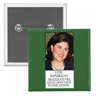 MONICA FOR REPUBLICANS PINS
