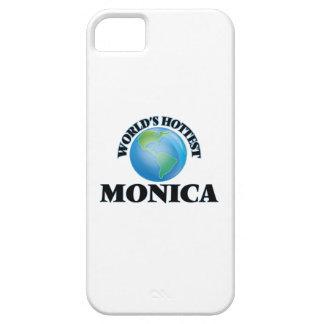 Mónica más caliente del mundo iPhone 5 carcasa