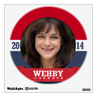 MONICA WEHBY CAMPAIGN WALL DECOR