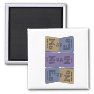 Monies-Mo-Ni-Es-Molybdenum-Nickel-Einsteinium.png 2 Inch Square Magnet