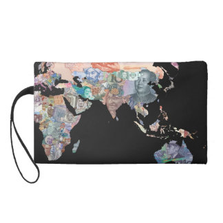 Monies of the World - Currency Wristlet Wallet