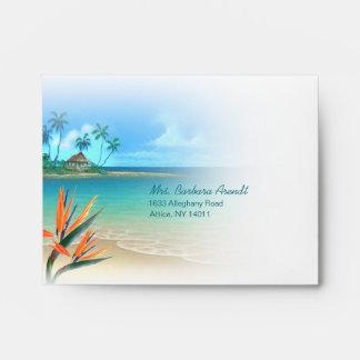 Monika/Arendt Exotic Beach A2 Envelope