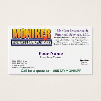 Moniker Business Card