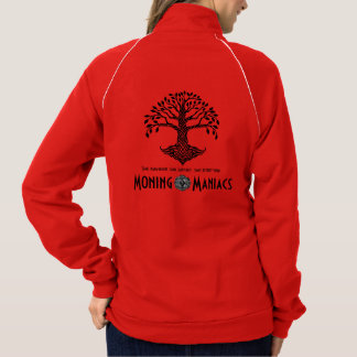 Moning Maniacs Fleece Track Jacket