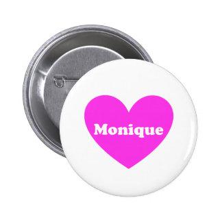 Monique Pinback Button