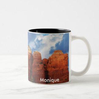 Monique on Coffee Pot Rock Mug