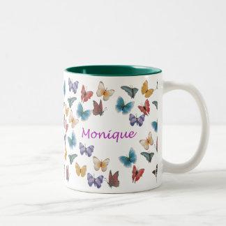 Monique Two-Tone Coffee Mug