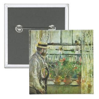 "Monisot's ""Eugene Manet"" button"