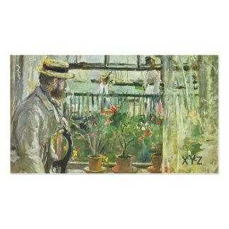 """Monisot's """"Eugene Manet"""" custom business cards"""