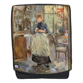 """Monisot's """"The Dining Room"""" art backpack"""